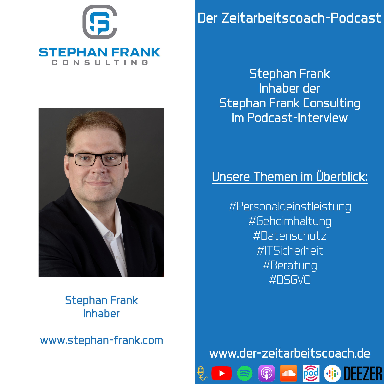Stephan Frank | Inhaber der Stephan Frank Consulting | Der Zeitarbeitscoach-Podcast
