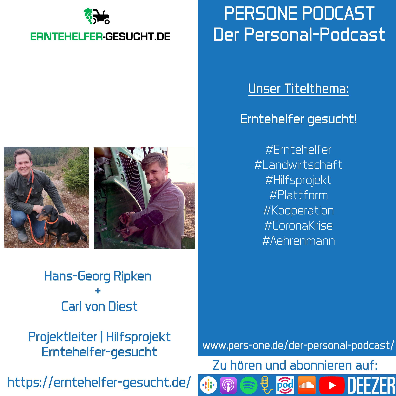 Erntehelfer-gesucht | PERSONE PODCAST – Der Personal-Podcast